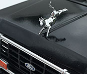 Romancing the Stone Ford hood detail