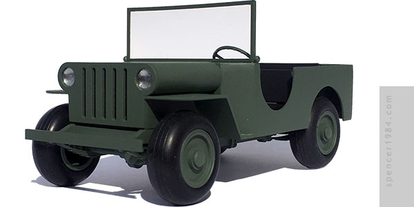 Jeep from the comic strip Beetle Bailey