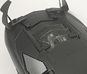 Batman and the Outsiders #8 Batmobile top detail