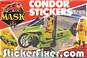 MASK Condor Stickers at StickerFixer.com