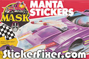 MASK Manta Stickers at StickerFixer.com
