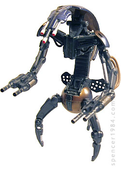 "Custom Star Wars Droid: ""Droideka"" Destroyer Droid ("