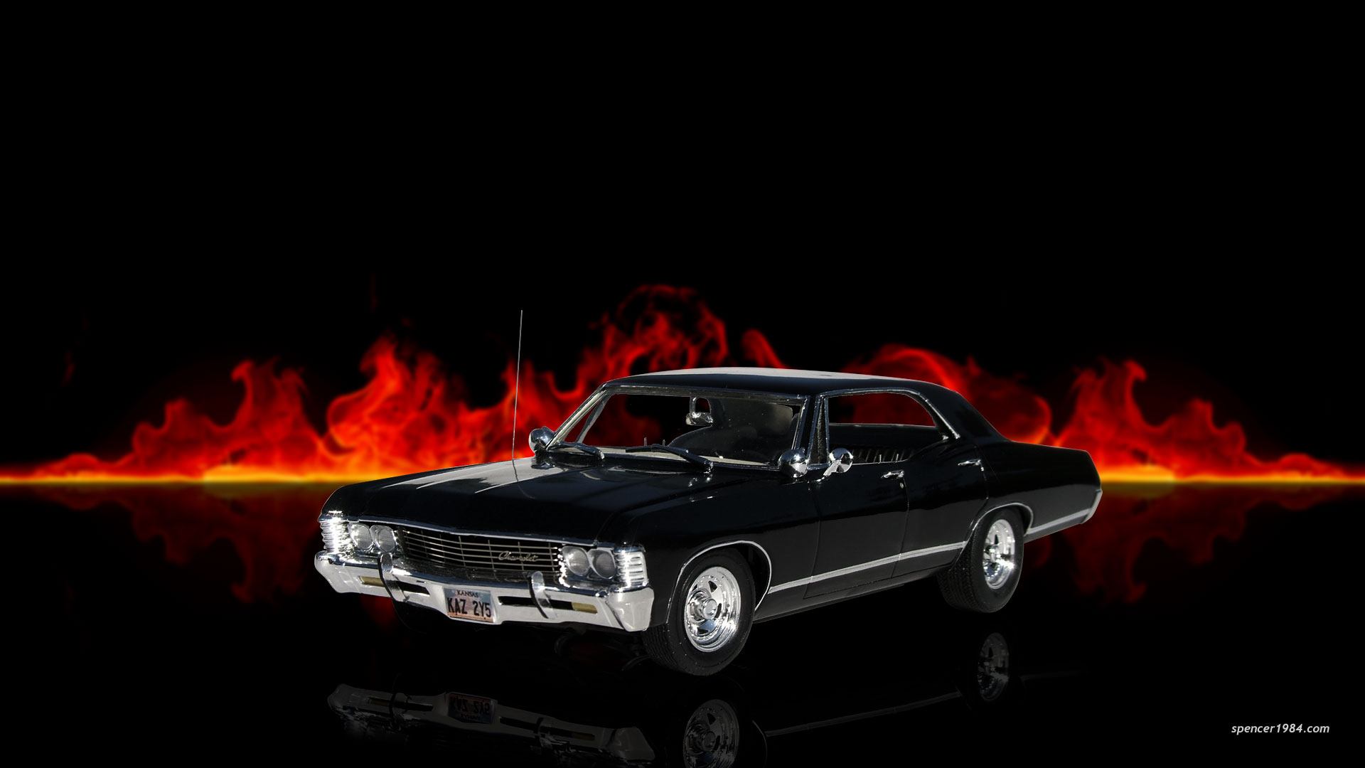 supernatural car impala wallpaper - photo #2