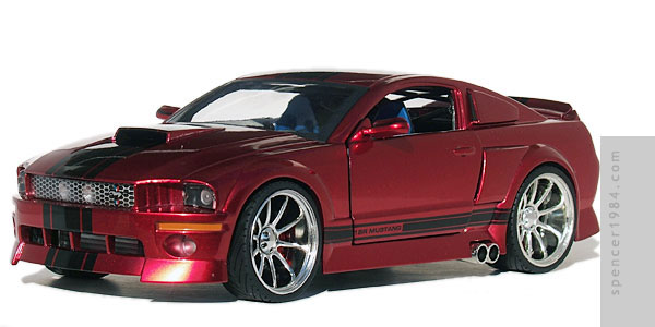1 Badd Ride 2005 Mustang Gt Diecast Review