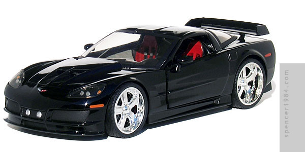1 Badd Ride 2005 Corvette C6 Diecast Review