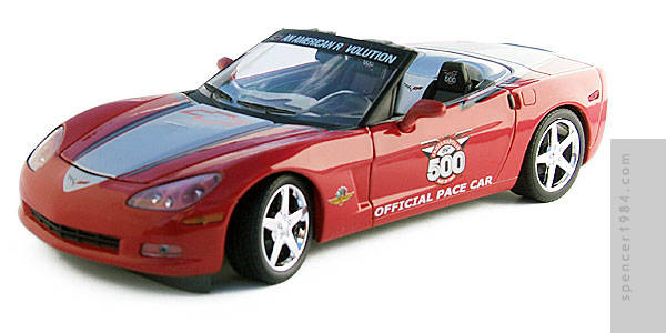 Greenlight Collectibles 2005 Corvette Indianapolis Pace Car