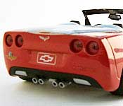 Greenlight Collectibles 2005 Corvette Indianapolis Pace Car Rear Fascia