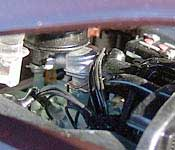 Danbury Mint 1949 Mercury Convertible Engine