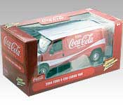 Johnny Lightning 2004 Ford E-250 Cargo Van Packaging