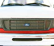 Johnny Lightning 2004 Ford E-250 Cargo Van Grille