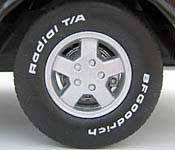 Reel Rides Dazed & Confused 1972 Chevrolet C10 Pickup Wheel