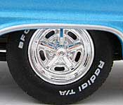 Reel Rides Tommy Boy 1967 Plymouth Belvedere GTX Wheel