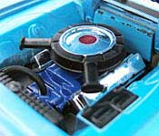 Reel Rides Tommy Boy 1967 Plymouth Belvedere GTX Engine