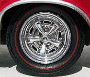 Hawk 1967 Dodge Charger Wheel