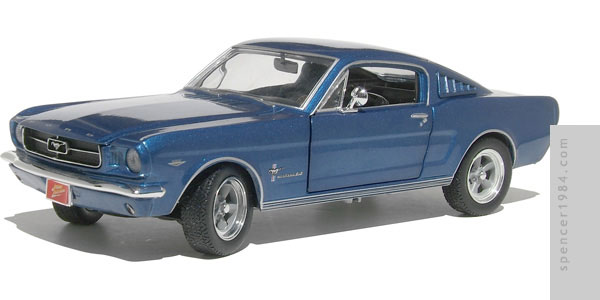 Johnny Lightning 1965 Ford Mustang Diecast Review
