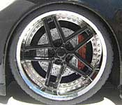 Jada Toys 2006 Chevy Corvette Z06 Wheel Detail