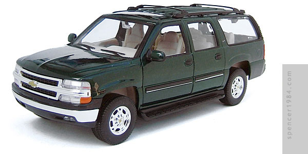 Welly 2001 Chevrolet Suburban Diecast Review