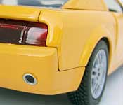 MotorMax Ford Mustang GT Concept Coupe Rear Detail