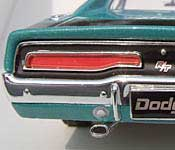 Johnny Lightning 1969 Dodge Charger R/T Rear