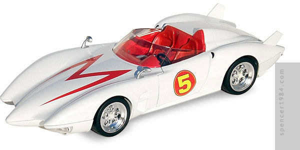 Hot Wheels Speed Racer Mach 5