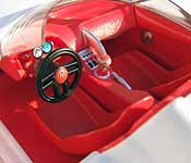 Hot Wheels Speed Racer Mach 5 Interior