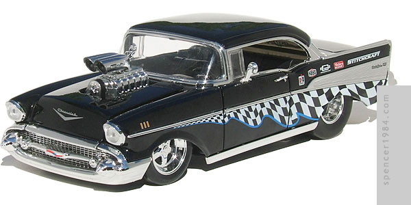 Jada Toys 1957 Chevrolet Bel Air Pro Street Diecast Review