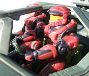 Joy Ride Studios Halo 2 Warthog Figures