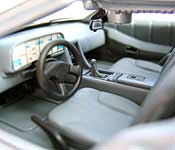 Welly DeLorean DMC-12 Interior