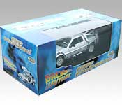 Welly/FuRyu DeLorean Back to the Future Time Machine Packaging
