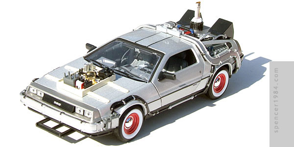 Welly/FuRyu DeLorean Back to the Future 3 Time Machine