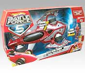 Hot Wheels Battle Force 5 Saber Packaging