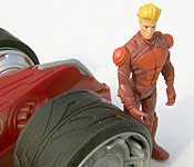 Hot Wheels Battle Force 5 Saber and Vert Wheeler figure