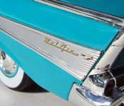 M2 1957 Chevrolet Bel Air Flank