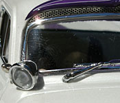 Danbury Mint Dream Truck windshield detail