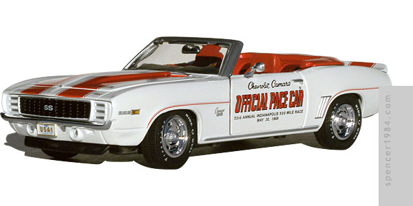 Greenlight Collectibles 1969 Camaro Indianapolis Pace Car