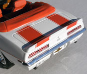 Greenlight Collectibles 1969 Camaro Indianapolis Pace Car Rear Fascia