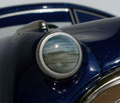 Mattel Doc Hudson headlight detail