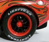 Air Hogs Lightning McQueen lightyear tire