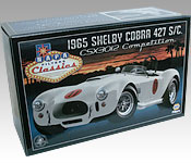Spinout 1965 Shelby Cobra 427 S/C CSX3012 box