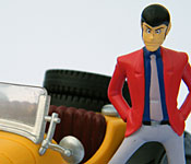 Banpresto Lupin the 3rd Mercedes-Benz SSK Arsene Lupin figure