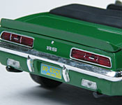 Greenlight Collectibles Bewitched 1969 Camaro rear