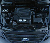 Greenlight Collectibles Men in Black 3 Ford Taurus SHO engine