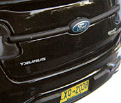 Greenlight Collectibles Men in Black 3 Ford Taurus SHO rear