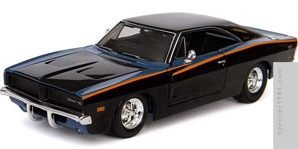 Maisto Need for Speed: Undercover 1969 Dodge Charger R/T