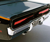 Maisto Need for Speed: Undercover 1969 Dodge Charger R/T rear