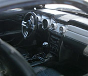 Maisto Need for Speed: Undercover 2006 Ford Mustang GT interior