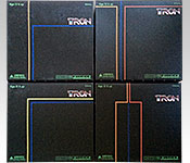 MediCom Kubrick Tron series packaging