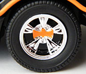 Mattel 1966 Batmobile wheel