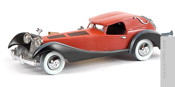 Walt Disney Classics Collection Cruella's Car