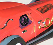 Walt Disney Classics Collection Cruella's Car side detail